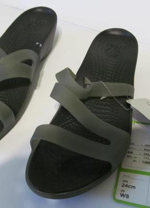 Crocs шлепки босоножки новые