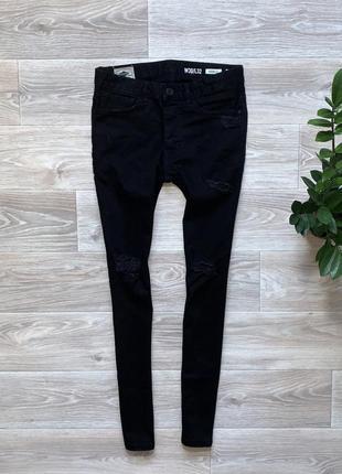 Штаны джинсы denim co skinny (30/32)