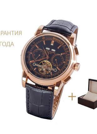Часы мужские patek philippe grand complications gold-black/новые 2 290 грн.