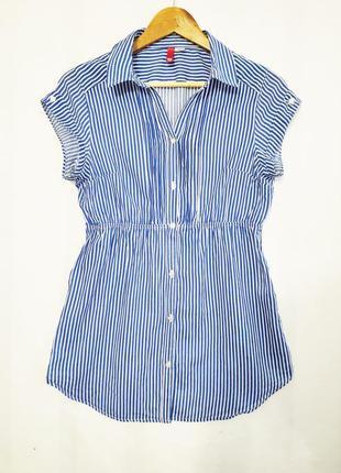 Хлопковая рубашка в полоску divided by h&m