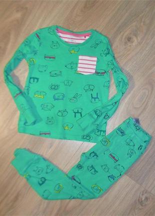 Пижама некст на 5-6лет рост 116