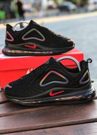 Черные кроссовки nike air 720