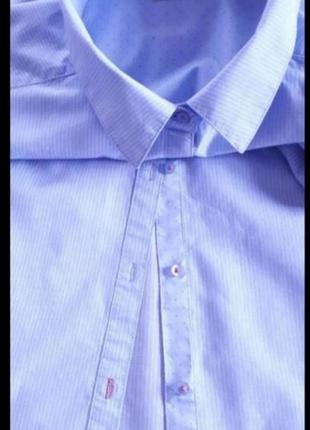 Фирменная рубашка. 100%коттон. 54-56р