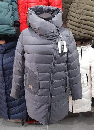 Женская зимняя куртка из коллекции vecereme удлиненная модель