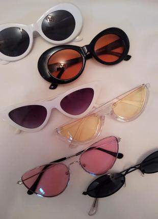 Новые солнцезащитные трендовые очки