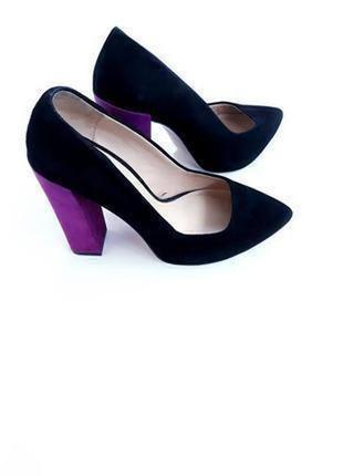 Туфли на каблуке от zara