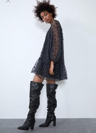 Невероятно красивое платье zara
