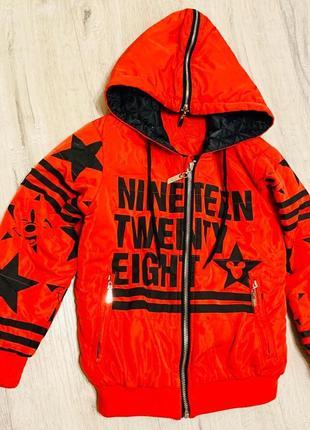 Куртка pinetti 58108-m 104 см красная