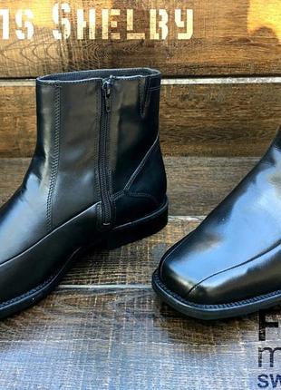Fretz men gore-tex. кожаные мужские осенние ботинки. зимние ботинки.