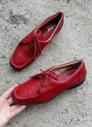 P.39 hotter (оригинал) кожаные туфли.