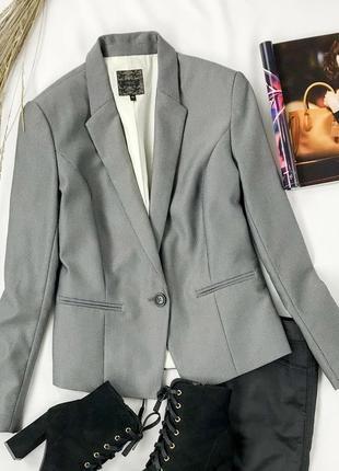 Лаконичный пиджак в сером цвете  jc1940009  next