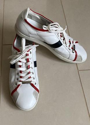 Кожаные кроссовки оригинал dior размер 44