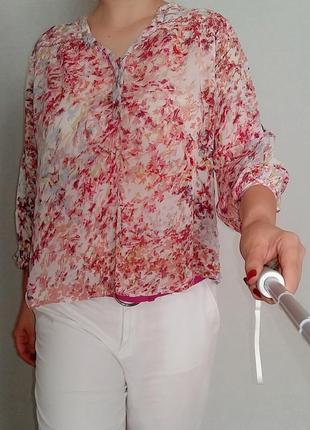 Легкая блуза из вискозы next 14-16 размер.