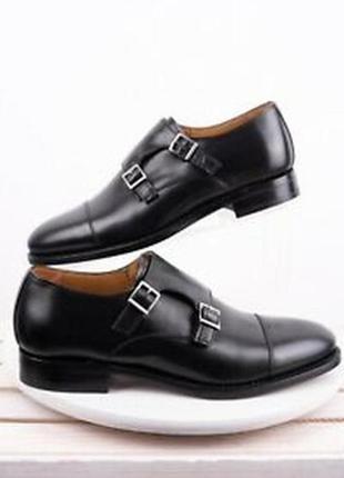 💥кожаные мужские туфли massimo dutti
