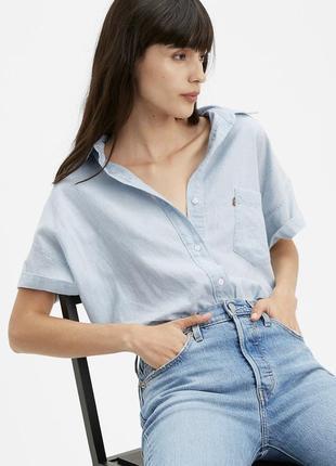 Рубашка levi's лён