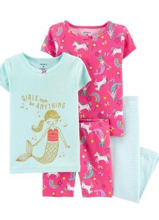 Пижама для девочки рр.92-110 carter's (картерс)