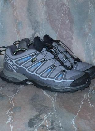 Фирменные трекинговые кроссовки salomon x-ultra gor-tex mammut lowa meindl scarpa
