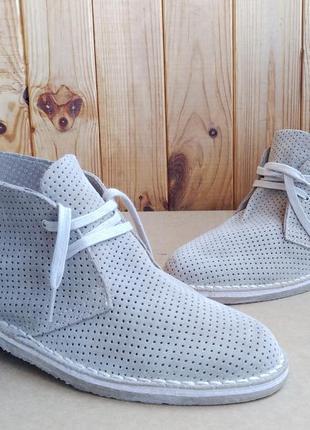 Стильные полностью кожаные дышащие дезерты испанские ботинки stradock lavorazione ideal