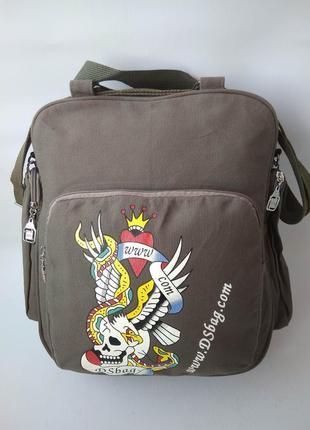 Брезентовая сумка
