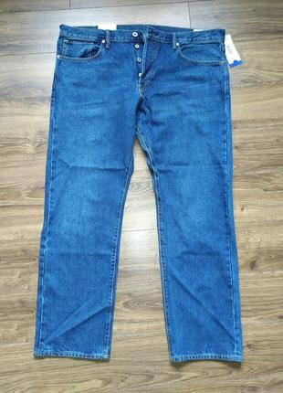 Мужские джинсы н&m straight, размер w42/l32