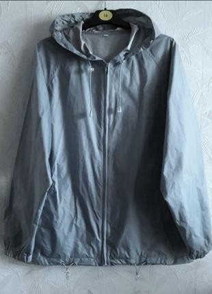 Куртка, ветровка, дождевик, 48-50-52, полиамид, полиэстер
