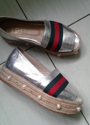 Стильные туфли 39 размер