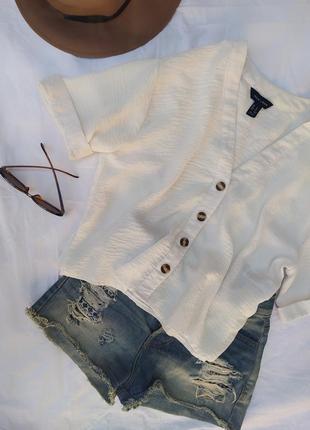 Блуза с пуговицами от new look