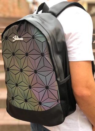 Рефлективный рюкзак сумка портфель для школы adidas адидас, практичный и удобный