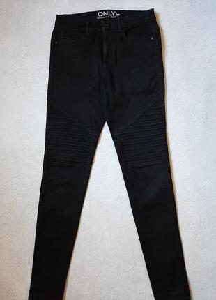 Черные джинсы only р 46