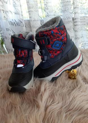 Термо сапоги ботинки сноубутсы lupilu