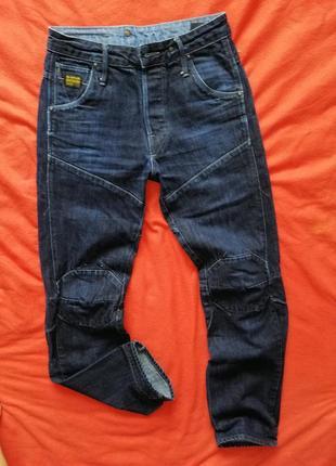 Брендовые мужские джинсы g-star raw 30/34 в очень хорошем состоянии