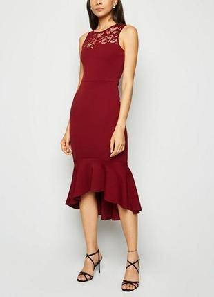 New look, новинка,сезона, шикарное платье, асимметрия, размер размер 42-44