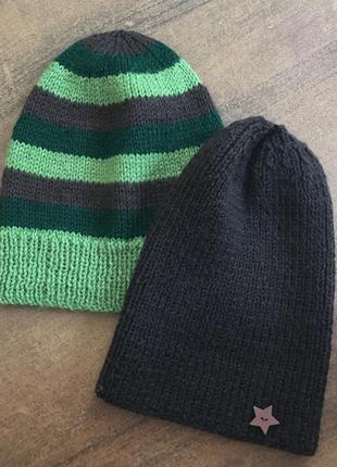 Набор шапка бини