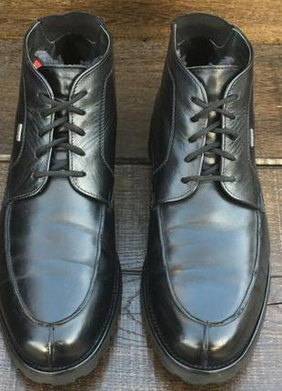 Lloyd varello gore-tex. кожаные мужские зимние ботинки с мамбранной.