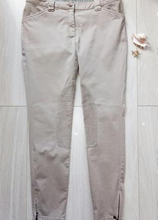 Бежевые, песочные джинсы esprit