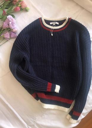 Новый свитер крупной вязки jennifer pp m-л