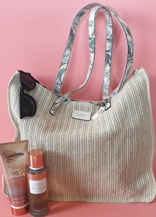Плетеная сумка victoria's secret 🔥акция!🔥 получи скидку 7%