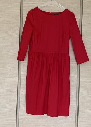 Яркое сочное легкое платье миди strenesse размер м