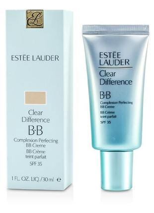 Тональный bb крем estee lauder clear difference complexion perfecting bb creme spf35