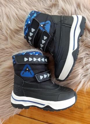 Термо ботинки сапоги зимние осенние lupilu
