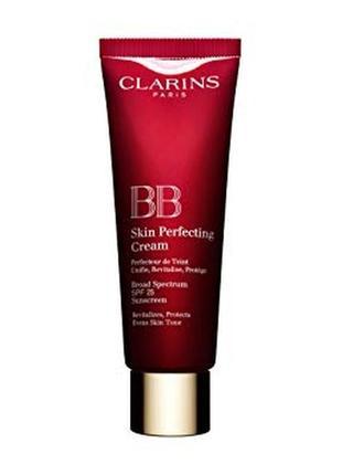 Bb-крем clarins bb skin perfecting cream broad spectrum sunscreen spf 25