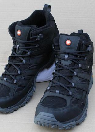 Ботинки merrell moab 2 smooth mid gore -tex® j46551 мембрана оригінал