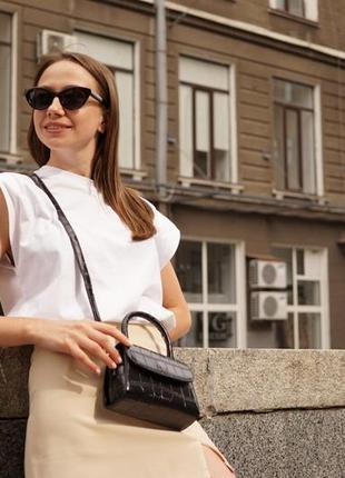 Женская сумка. маленькая сумка. сумка с короткой ручкой2 фото