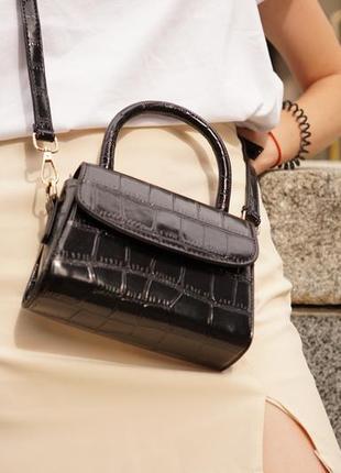Женская сумка. маленькая сумка. сумка с короткой ручкой