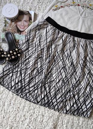 Трендовая юбка миди на резинке