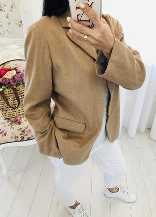 Pablo gerard darel пиджак жакет блейзер ангора шерсть в цвете кемел
