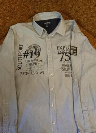 Рубашка с длинным рукавом identic