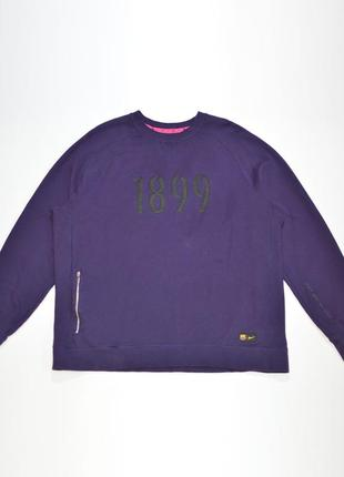 Реглан, свитшот nike fc barcelona authentic crew sweatshirt 824606-524
