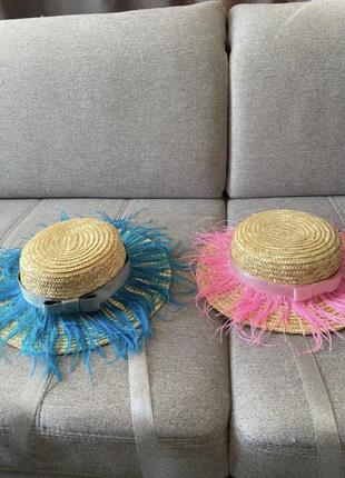 Шляпки.соломленые шляпы.летний головной убор.панама