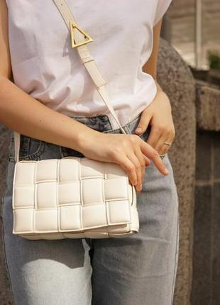 Сумка в стиле veneta bottarga. женская сумка. сумка через плече
